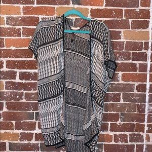 Sweater poncho top